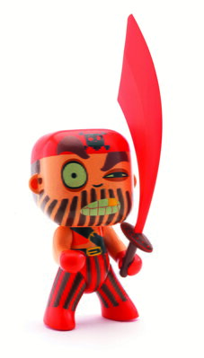 Arty Toys Djeco Pirát Captain Red