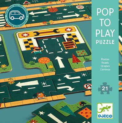 Pop to Play Puzzle Cesty